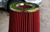 Equipo doble para un filtro de aire de motor!