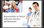 Responsabilidades del científico de laboratorio clínico y los técnicos