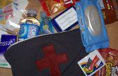 Kit de primeros auxilios (con las instrucciones para hacer una bolsa de cremallera alineado)