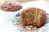 Receta de Muffin de plátano rápido y fácil