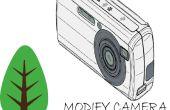 BRICOLAJE cámara infrarroja para el análisis de la vegetación con Canon A2300
