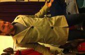 Hacer una chaqueta de doble botonadura en un pecho solo