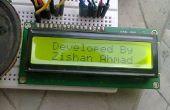 Alarma de seguridad para el hogar o un Detector de movimiento con LCD y Sensor de Arduino,P.I.R.