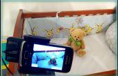 Bebé Monitor con un teléfono Android antiguo