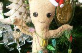 Ornamento del árbol de Navidad de Groot del bebé