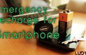 Carga de emergencia para tu Smartphone
