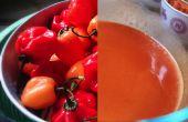 Salsa Sriracha de Habanero casera