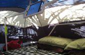 PVC iPad soporte y montaje para carpa camping