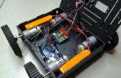 Aplicación Android controlado ATR (todos terrrain racer)