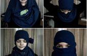 Cómo hacer una máscara de ninja