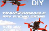 FPV Transformable y Modular DIY Quadcopter de carreras!
