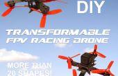 FPV Transformable y Modular DIY Quadcopter de carreras!