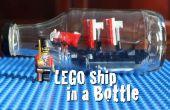 Cómo hacer un barco LEGO en una botella