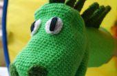 Crochet un lindo muñeco de dinosaurio