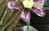 ¿Hacer una flor de jardín de acero