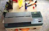 Construir un dobladora de tira línea de acrílico de una antigua plastificadora