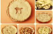 Tarta de manzana con costra de canela Roll