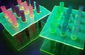 DIY Gradilla para tubos de prueba de tiro