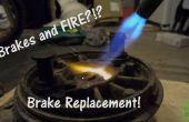 Cómo: Cambiar zapatas de freno de tambor para motos