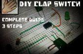 DIY Clap Switch 555 temporizador