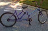 Xtends - convertir su bicicleta en una bicicleta de carga largo