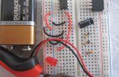 Temporizador 555 IC / circuito de intermitencia