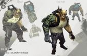 Proyecto de PC portátil inspirado en Shadowrun Cyberdeck