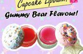 Bálsamo para los labios Cupcake DIY! Gominolas con sabor!