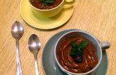 Pudin cremoso de Chocolate aguacate