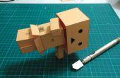Robot de cartón en Danboard