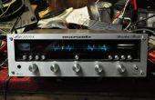 Trayendo nueva vida a un viejo receptor estéreo marantz clásico con una clase de tablero de D amp.