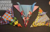 Aviones de Origami inspirado en dibujos animados