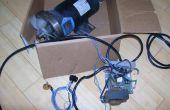 Usar una caminadora DC Drive Motor y controlador de velocidad PWM para accionar herramientas