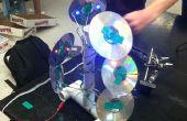 Artística USB lámpara de CD