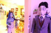 "Tim Burton ""Corpse Bride"" trajes"