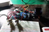 Arduino Pan Tilt controlado