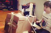 Cómo construir un avión de cartón Cat