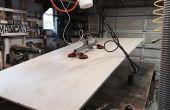 Cómo hacer un vacío de potencia elevador de madera contrachapada para su taller