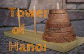 Haga un rompecabezas de la torre de Hanoi juego