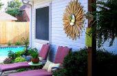 Iluminación solar para decoración de la casa