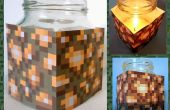Vela de cera de abeja de piedra brillante fácil de Minecraft