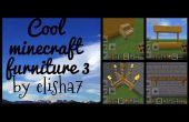 Enfriar 3 muebles de Minecraft