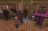 Cómo hacer los aldeanos de Minecraft!