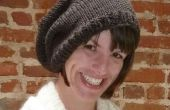 Patrón del sombrero del Knit fácil