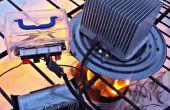 : Fuego electricidad del calor