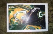 Cómo dibujar mi Green Bay Packer dibujo