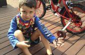 Fijación de un soporte de luz de bicicleta con Sugru