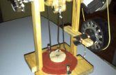 Construir un motor Stirling de bajo costo para la generación de energía