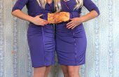 Conjoined Twins Halloween traje