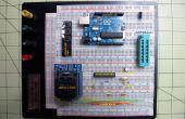 Quemar el Arduino Bootloader en chips Atmega 328 TQFP y DIP en protoboard